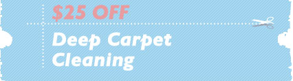 Cleaning Coupons | $25 off deep cleaning | Carpet Cleaning Bergen