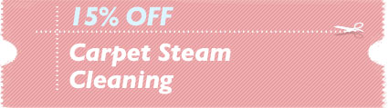 Cleaning Coupons | 15% off carpet steam cleaning | Carpet Cleaning Bergen